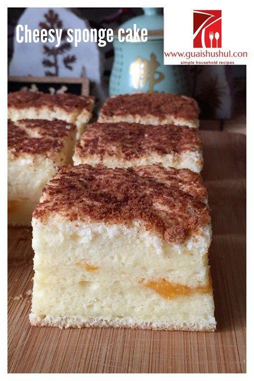 Taiwanese Gochabi Sponge Cake Recipe