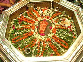 Vishnu Pada at Gaya, India