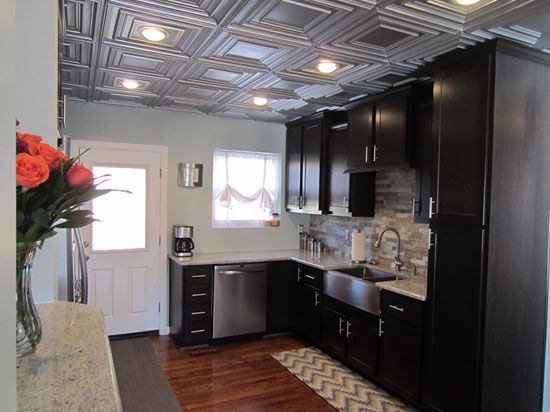 134 best Kitchen Ideas images on Pinterest Ceilings Ceiling