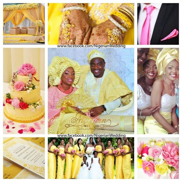 Pink And Brown Wedding Ideas: 17 Best Images About Nigerian Wedding Color Schemes