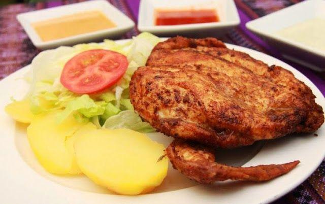 Como preparar la Pollada Peruana, Receta e Ingredientes paso a paso. Cocina peruana