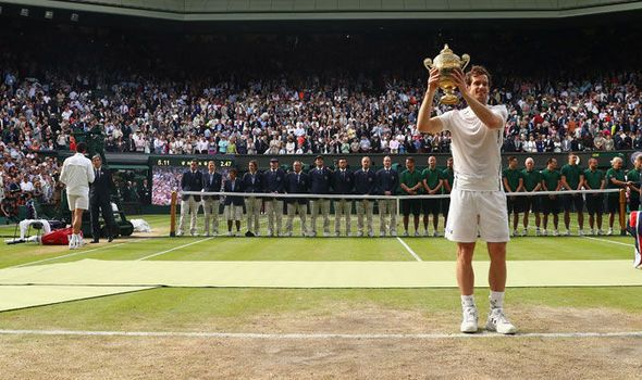Wimbledon seedings full list: Andy Murray is 1 Novak Djokovic at 2 and Roger Federer is 3