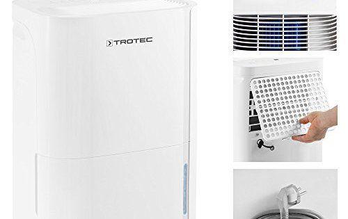 TROTEC TTK 66 E Déshumidificateur d'air, Déshumidificateur Electrique, Déshumidificateur Portable, Absorbeur d'humidité, Déshumidification…
