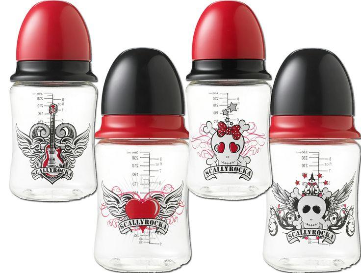 Scallyrocka Bottles. For the super cool kid.