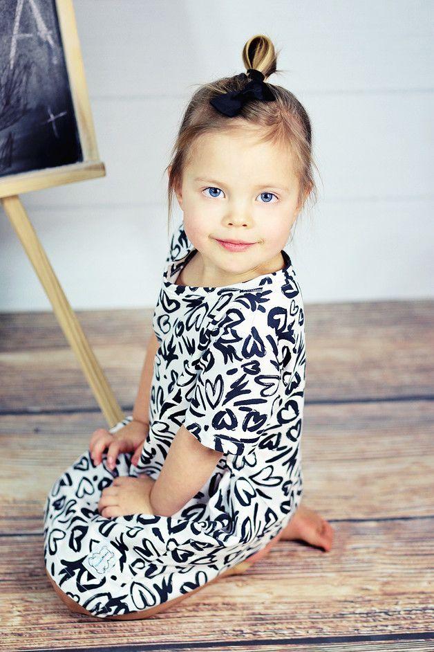 Sukienka GEO-SERCA - HonsiuMisiu - Sukienki dla dziewczynek