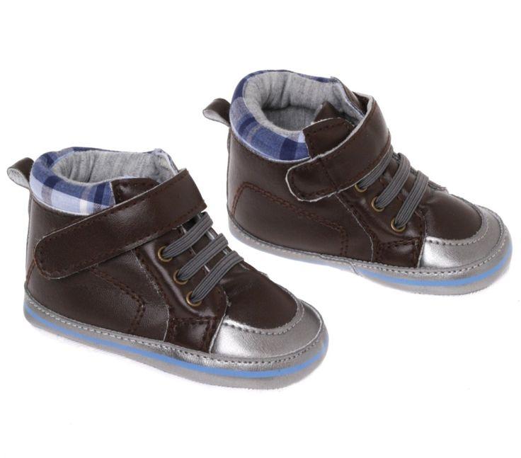 Rock a Bye Baby βρεφικά παπουτσάκια αγκαλιάς «Little Checker»  €6,90