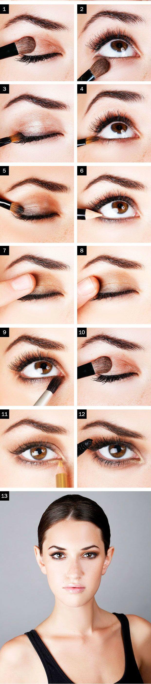 Doğal göz makyajı
