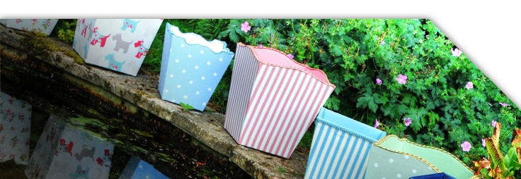 Such sweet colours from Cubbins - perfect for nurseries or conservatories or bedrooms!