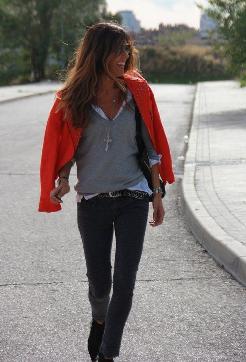 rock in  , Zara en Chaquetas, Zara en Jerseys, berhka en Pantalones, Zara en Botines