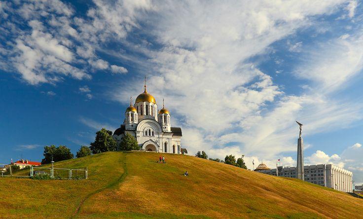 (Samara, Russia) Temple-memorial Martyr St. George by Сергей Щербатюк