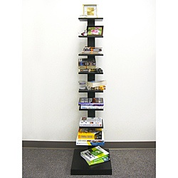 @Overstock - These Spine Standing book shelves feature a space saving design while remaining stylish and functional. This simple line design provides storage and display space for all your favorite books and decorations.   http://www.overstock.com/Home-Garden/Spine-Standing-Black-Book-Shelves/6021887/product.html?CID=214117 $134.00