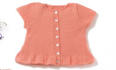 Book Baby 72 Spring / Summer | 44: Baby Jacket | Rose