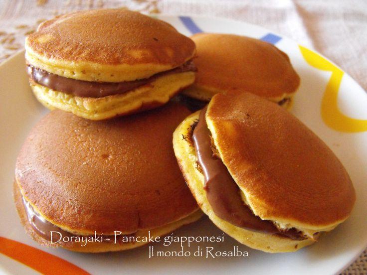 Dorayaki - Pancake giapponesi