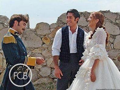 Amor Real 2003 - Behind The Scenes : Mauricio Islas, Fernando Colunga, Adela Noriega
