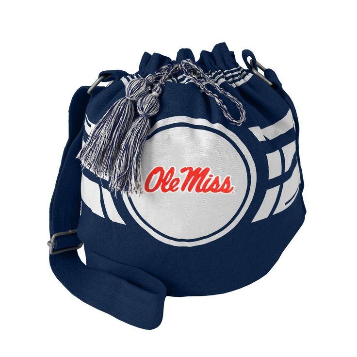 Bucket Bags NCAA Ole Miss Rebels Team Color Solid