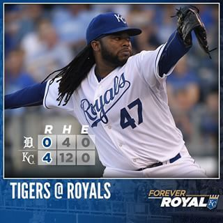 Johnny Cueto Royals Gatorade