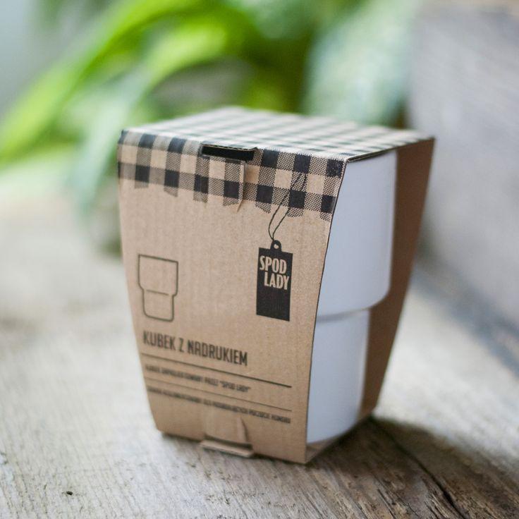 Każdy nasz kubek zapakowany jest w elegancko kartonik