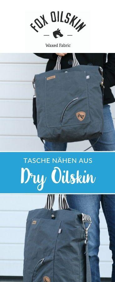 Gewachste Baumwolle - Fox Oilskin - Dry Oilskin light Grau | Nähen ...
