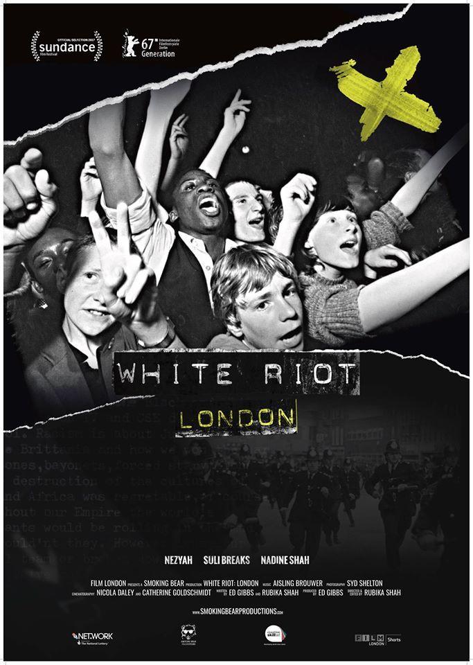 White Riot: London by Rubika Shah. Berlinale Generation 14plus.  Poster.