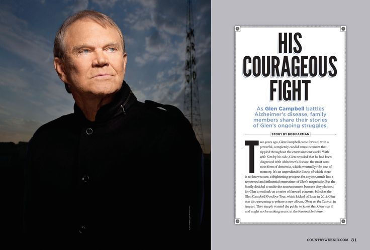 As Glen Campbell battles Alzheimer's disease, family members share their stories of Glen's ongoing struggles.