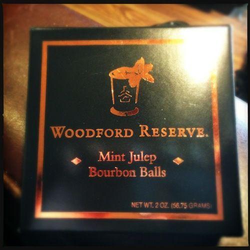 Review: Woodford Reserve Mint Julep Bourbon Balls