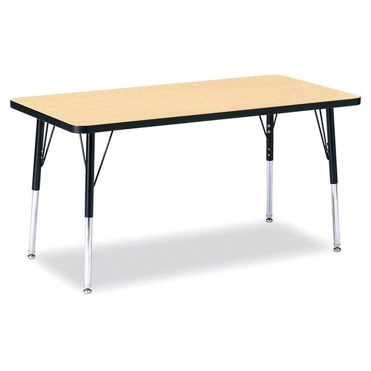 Jonti Craft Ridgeline Rectangle Activity Table   $119.99 @hayneedle