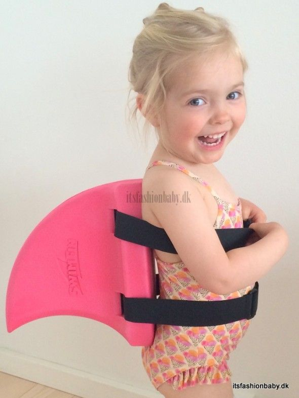 swimfin - perfect for swimming with children. Swimsuit from Soft Gallery.