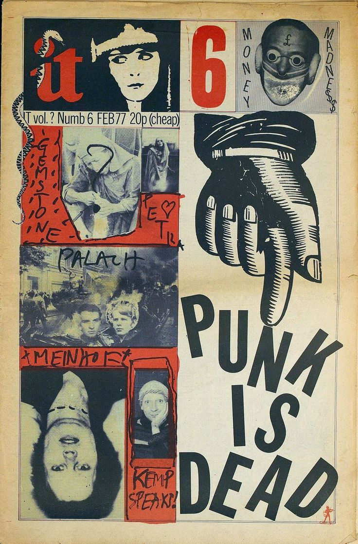"""Punk is Dead"", Feb.1977 - Original Uk Fanzine."