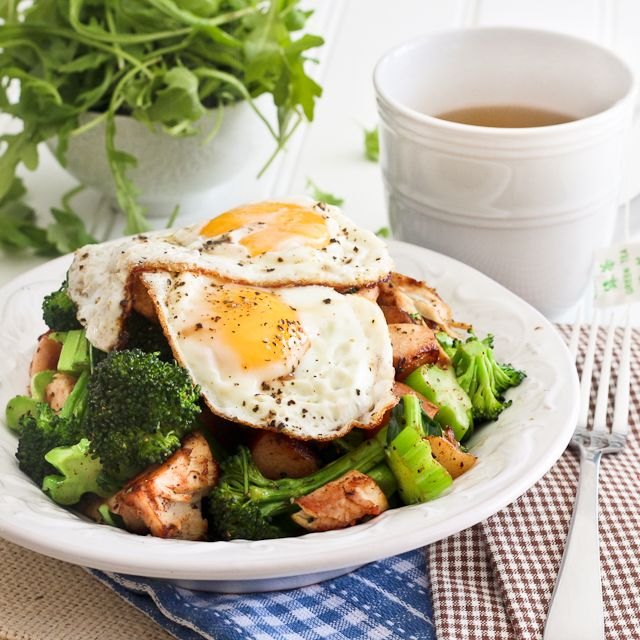 Turkey, Apple and Broccoli Hash – The Foodee Project