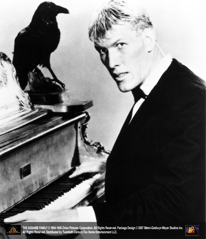 Ted Cassidy with Raven