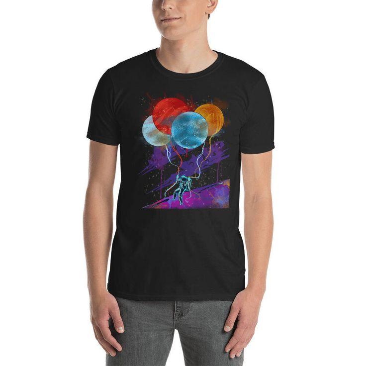 Funny Astronaut Short-Sleeve Unisex T-Shirt | Astonaut T Shirt | Space Astronaut T-Shirt | Astronaut Tshirt Gift | Astronaut Party Shirt Men