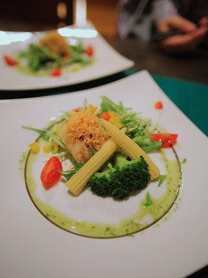 かろかろ夕食:黒鯛のソテー2