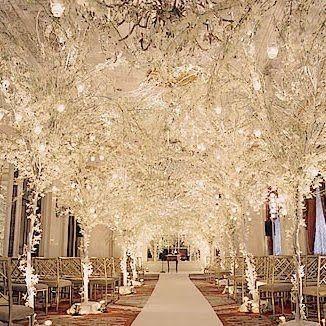 David Tutera wedding decor. Breathtaking!