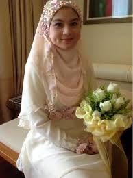 Hasil gambar untuk hijab syari wedding
