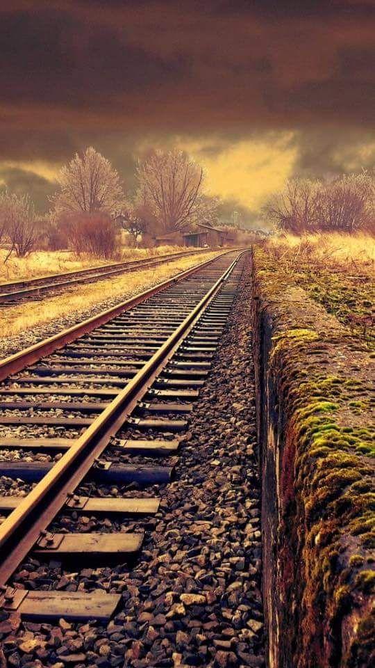Jute Rugs Very cool shot of train tracks