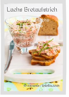 Leckeres Lachs Brotaufstrich Rezept mit einfacher Schritt-für-Schritt-Anleitung: Alles im Mixer vermischen und servieren...
