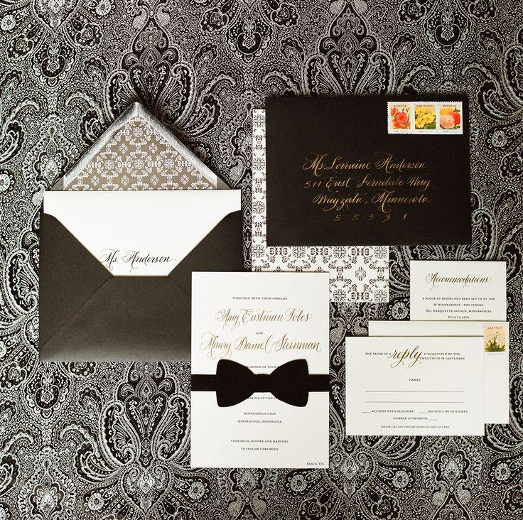Elegant Minneapolis Club Black Tie Wedding 55