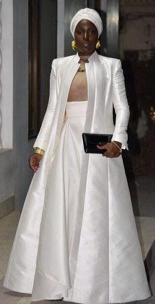 Modesty Fashion...white evening look