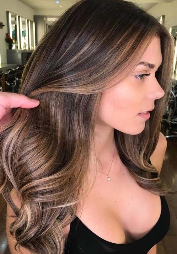 62 Brilliant Brunette Balayage Hair Color Trends For 2018 Beauty