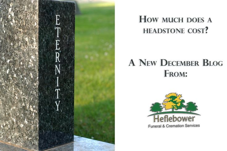 How much does a headstone cost? - Denver Funeral Service