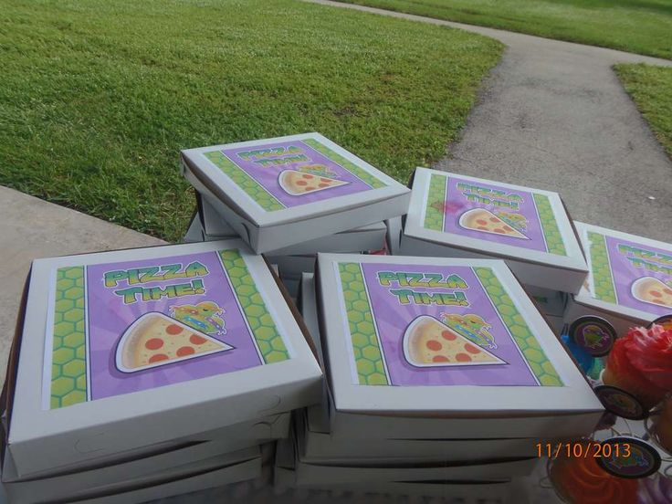 Teenage Mutant Ninja Turtles Birthday Party Ideas | Photo 21 of 24 | Catch My Party