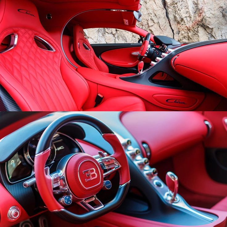 Red Bugatti Chiron Interior Lmx Men Toys Pinterest