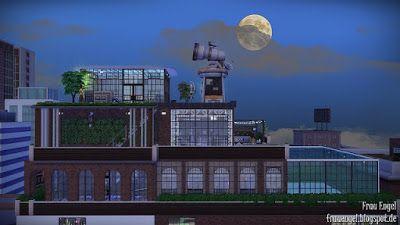 The Sims 4 Mody: Przemysłowy Penthouse od Frau Engel
