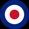 The Royal Air Force roundel, a mod symbol.