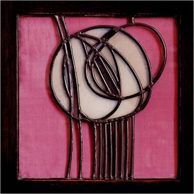 Mackintosh. Looks like it's from the Willow Tea Rooms in Glasgow, in which case it's Margaret McDonald Mackintosh and Charles Rennie Mackintosh working together.
