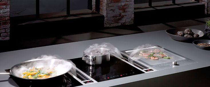 Teppanyaki - den nye mat-trenden. Å steke på en BORA teppanyaki-grill er annerledes og gøy. Som å grille inne! Lag mat sammen - uten steke-os og matlukt.