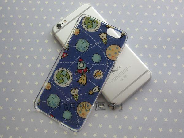 Оригинальная итальянская рельефная Apple, телефон оболочки iphone6s мягкой матовой стороне строп 7plus планету от космической ракеты