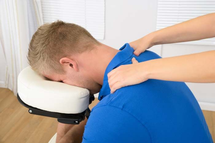 You can use chair massage to expand your practice, build clientele, make extra money and support clients' health.