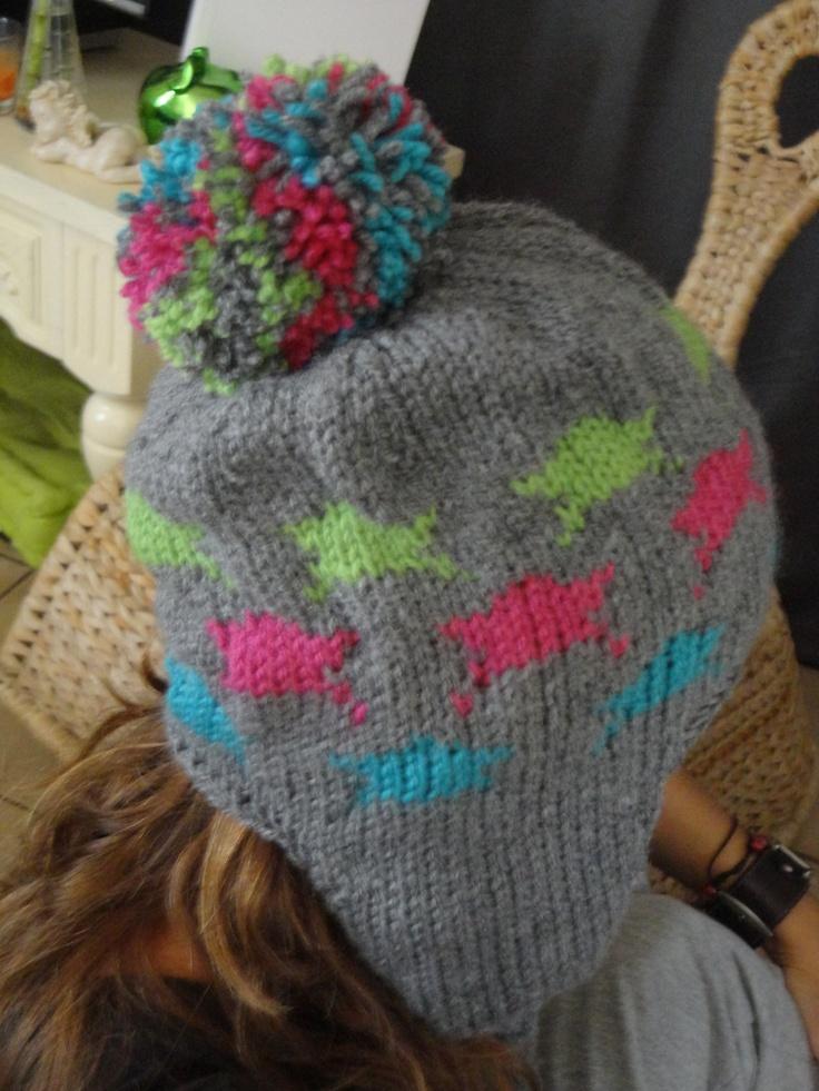 Mon premier bonnet péruvien!!!