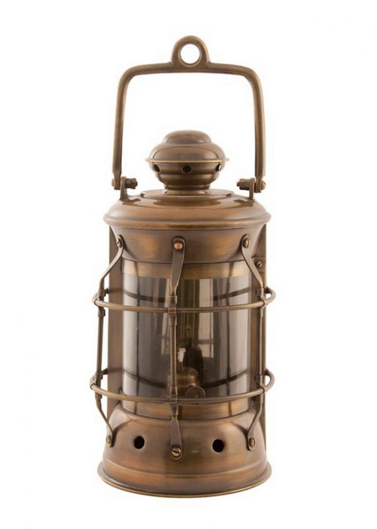 Antique Brass Masthead Lantern 11 Inch - Oil Lantern ...